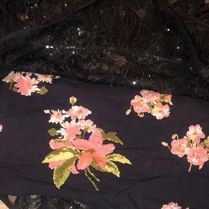 Free People Dresses - { FREE PEOPLE } FALLING FLOWERS FROCK